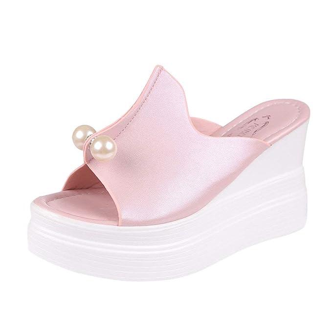 Damen : Weiß BaZhaHei Damen Zehentrenner Sandalen Schuhe