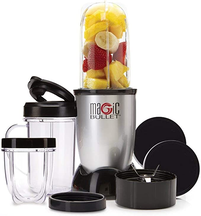 Magic Bullet - Extractor de nutrientes original (11 piezas) Set de ...