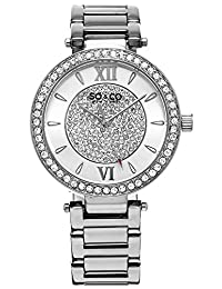 SO & CO New York 5234.1 Women's Madison Dress Analog Watch with Silver Band