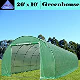 DELTA Canopies Greenhouse 26'x10' (B2) 119 lbs - Green House Walk in Hot House