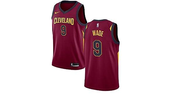 free shipping 40549 b4050 Amazon.com: Nike Dwyane Wade Cleveland Cavaliers Burgundy ...