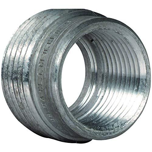 Killark R-32 Reducing Bushing, 1'' - 3/4'' Hub Size, Copper-Free Aluminum, 23/32'' Body Length by Killark