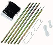 Portable Outdoor Badminton Net and Post Set - New Upgraded