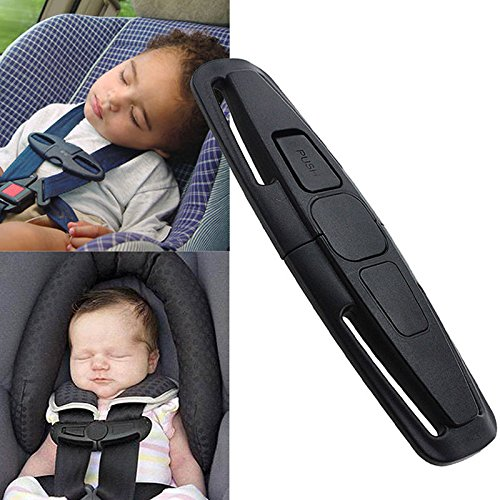 Mystyleshop-PL0 Children Baby Safety Seat Strap Belt Harness Chest Clip Safe Lock (Diy Grandma Costume)