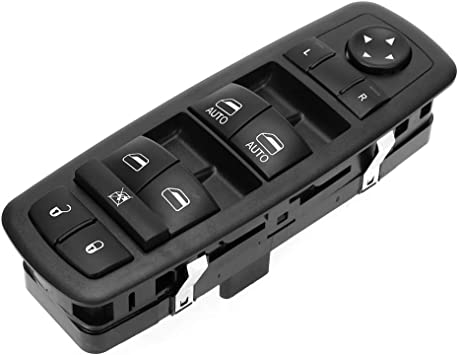 NewYall Front Left Driver Side Electric Power Window Master Control Switch