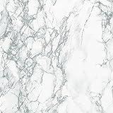 d-c-fix 96396 De Decorative Self-Adhesive Film, Grey Marble, 17.71'' x 78'' Roll - 2 pk