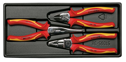 523001000 VDE-Plier Set ''Ms-23'' 3 Pcs by Elora
