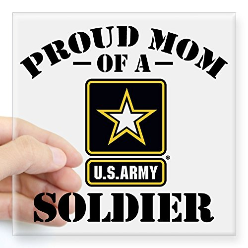 CafePress Proud Square Sticker Bumper