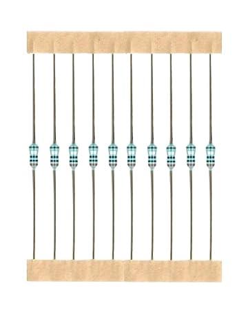 50 Stück Widerstände E549 330k Ohm,330kOhm, 0,6W, Metallschicht Widerstände