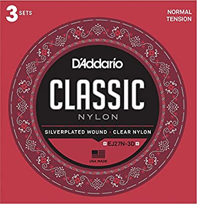 DAddario T4603 Juego de Cuerdas para Guitarra Clásica de Nylon ...
