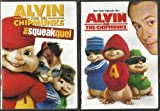 ALVIN AND THE CHIPMUNKS DOUBLE FEATURE DVD SET!