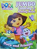 Dora the Explorer Jumbo Coloring and Activity Book [Toy]