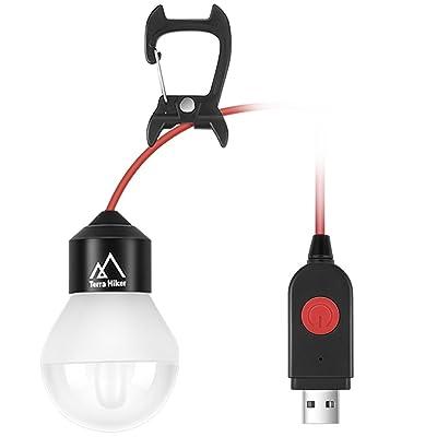 Ampoule Led Usb Portable Terra Hiker Lampe Led Usb A Suspendre Avec