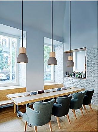 Dewel Cement Lamp Minimalist Retro Hanging Lamp Vintage Lamp Livingroom Lamp  (No Bulb Included)