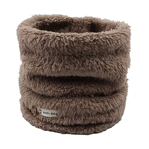 Fleece Boys Girls Scarf Warm Winter Autumn Kids Collar Scarf Neck WarmerChildren Scarf 1-6Y