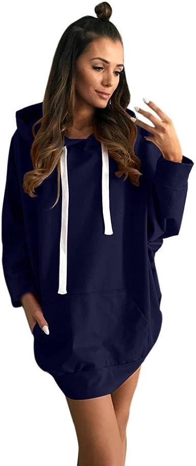 Overdose Oversize Robe Sweat Femme Capuche, Sweatshirt