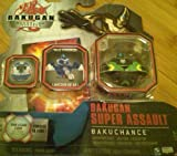 Bakugan Gundalian Invaders - Bakugan Super Assult - Bakuchance (Black with Green) : Item No. 20031533