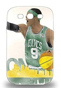 Tpu 3D PC Case Cover Compatible For Galaxy S3 Hot 3D PC Case NBA Boston Celtics Rajon Rondo #9 ( Custom Picture iPhone 6, iPhone 6 PLUS, iPhone 5, iPhone 5S, iPhone 5C, iPhone 4, iPhone 4S,Galaxy S6,Galaxy S5,Galaxy S4,Galaxy S3,Note 3,iPad Mini-Mini 2,iPad Air )