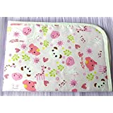 "Waterproof - Baby - Changing Pad Pink - 2-Pack - Assorted - Diaper Pad - Changing Table Pad - 14"" x 17"" - Take Anywhere - Waterproof Sheet - Soft and Comfortable - Convenient - Assorted Prints - Practical - Soft - Easy Care - Machine Wash and Dry"