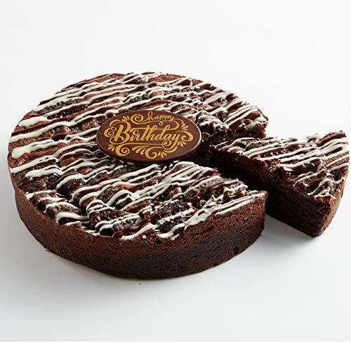 Cookies and Cream Brownie Cake - Happy Birthday