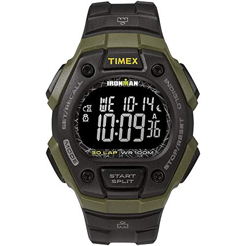 Timex Ironman Classic 30 41mm Full-Size Resin Strap Watch - Gre. [TW5M24200JV]