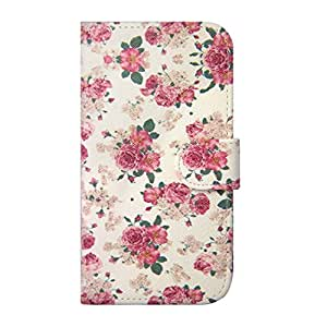 Generic Rose Flower PU Leather Wallet Design Flip Case Cover for Samsung Galaxy S6 Edge