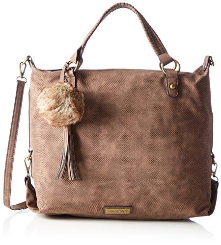 hombro Tozzi Mujer Marco 61024 de Chestnut bolsos Shoppers y Antic Marrón wYwqnFdP