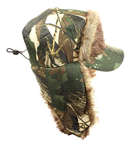 Hunting Camo Hats Russian Trapper