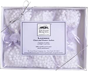 The Good Home Co Closet and Drawer Sachets, Lavender, 0.5 Ounce