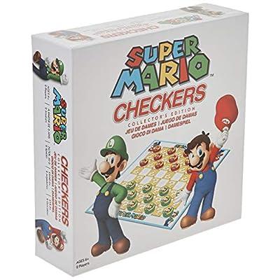 Super Mario Checkers Collector's Edition: Toys & Games