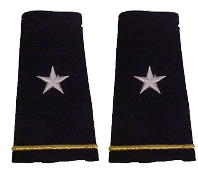 Amazoncom Army Uniform Epaulets Shoulder Boards O 7 Brigadier