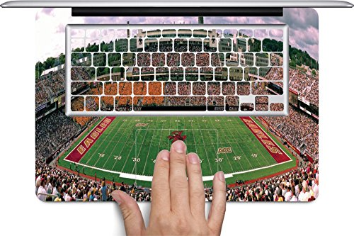 Alumni Stadium Full Keyboard Vinyl Decal Skin by Compass Litho for 13 inch MacBook