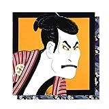 Wipe Fukuwarai furoshiki Sharaku man (japan import)