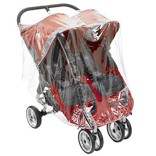 1STOPBABYSTORE Universal Twin Rain Cover For Baby Jogger Mini And GT Double