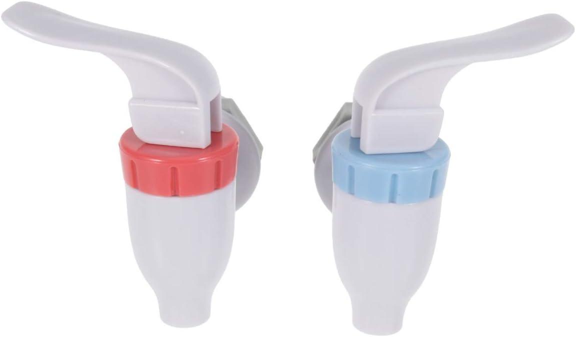 Cabilock 2 unids Refrigerador de Agua Dispensador de Grifo Reemplazo Faucet Botella Jarra de Agua Reutilizable Palanca de Bebida Válvula de Agua Vaso de Agua Crock