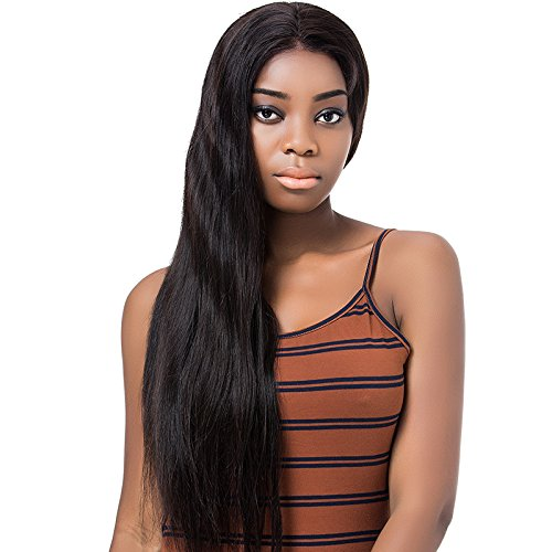 YYONG 360 Lace Frontal Wig With Baby Hair Remy Straight Hair Glueless Brazilian Human Hair 360 Wigs For 10-24 Inch by YYONG