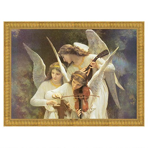 Design Toscano Song of the Angels Classic Art Reproduction: Grande