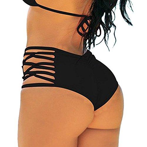 FITTOO Damen Bikinihose Schwarz xQd18lQt Beste