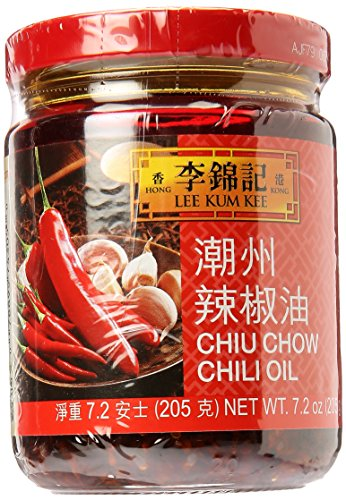 Lee Kum Kee Chiu Chow Chili Oil net wt. 205g (7.2oz)