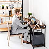 TOPSKY Computer Desk with Storage