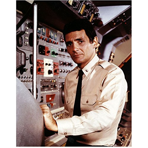 Voyage to the Bottom of the Sea David Hedison as Captain Crane at Controls 8 x 10 Inch Photo