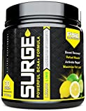 Pure BCAA Amino Acids Powder | Essential Amino Acids | Branched Chain Amino Acids 5000mg + Instantized | Leucine + Valine + Glutamine Supplement | Lemon Lime Surge 2:1:1 Powder
