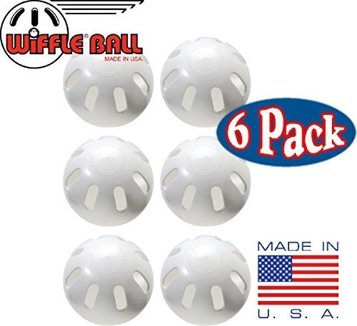WIFFLE Ball Baseballs, 6 Piece by WIFFLE