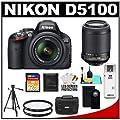 Nikon D5100 16.2 MP Digital SLR Camera & 18-55mm G VR…