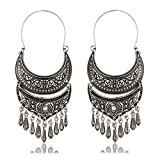 Crunchy Fashion Bollywood Style Traditional Indian Jewelry Dangle and Drop Earrings for Women
