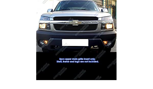 APS Compatible with 2001-2006 Chevy Avalanche Main Upper Billet Grille Insert C65329A