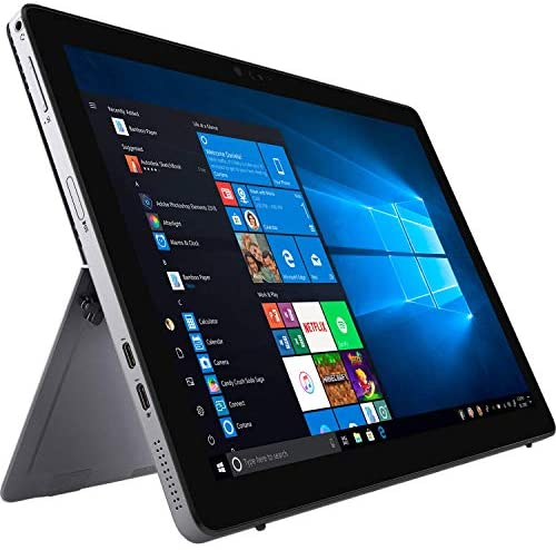 Dell Newest tenth Gen Latitude 7210 Tablet 2-in-1 PC, Intel Core i7 1016U Processor, 16GB Ram, 256GB Solid State Drive, Dual Camera, WiFi & Bluetooth, USB 3.1 Gen 1, Type C Port, Win 10 Pro (Renewed)