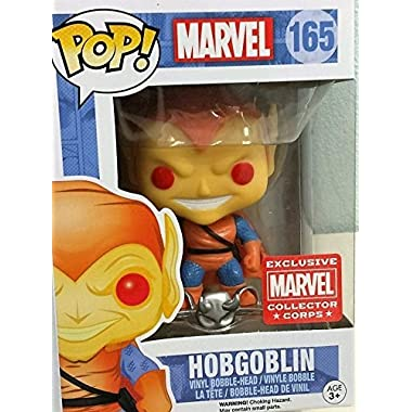 Funko Pop! Marvel Hobgoblin Collector Corps Year One Exclusive