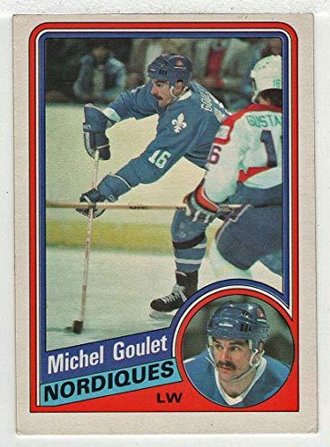 Michel Goulet (Hockey Card) 1984-85 O-Pee-Chee # 280 NM/MT