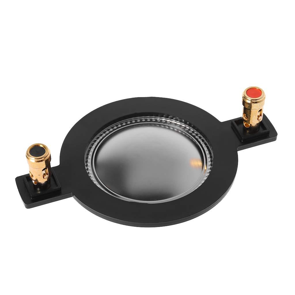 SimpleLife Haut-Parleur Audio de 44 mm Film Titane/Membrane à Haute tonalité Remplacement de la Bobine vocale élevée Accessoire de Tweeter à Bobine/Membrane aigu